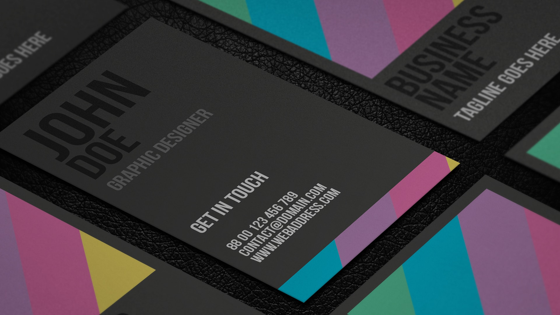 Giveaway: 8 Free Business Card Templates
