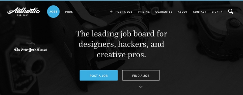 The leading jobs for designers, hackers and creative pros