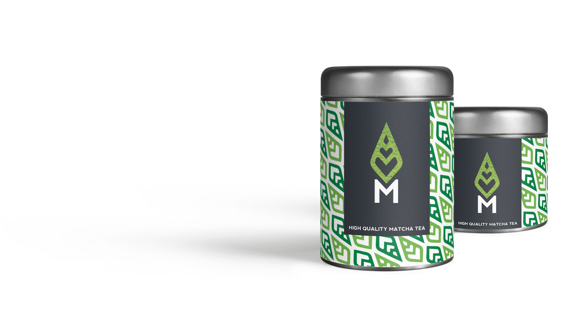 Matcha Me Tins Product Design